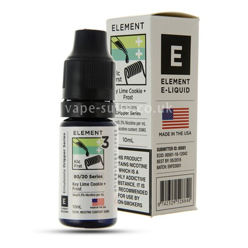 Key Lime/Frost Emulsions E-Liquid By Element
