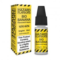 Bio Banana 50/50 Hazard E-Liquid 10ml