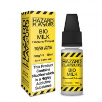 Bio milk 50/50 Hazard E-Liquid10ml