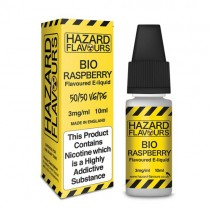 Bio Raspberry 50/50 Hazard E-Liquid10ml