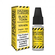 Black toxin 50/50 Hazard E-Liquid10ml