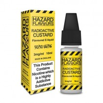Radioactive custard 50/50 Hazard E-Liquid10ml
