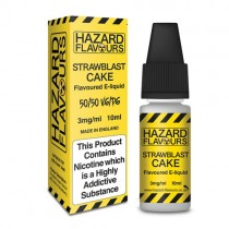 Strawblast cake 50/50 Hazard E-Liquid10ml