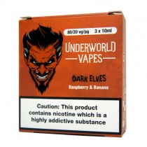 3 X 10ml  E-Juice Dark Elves by Underworld Vapes