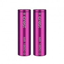 Flat Top 2500mAh IMR 18650 Efest Battery