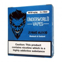 3 X 10ml E-Juice Zombie Blood by Underworld Vapes