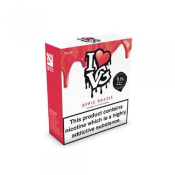 Apple Dazzle TPD compliant 10ml multipacks of 3 by I Love VG