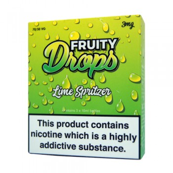 Lime Spritzer E-Liquid By Fruity Drops